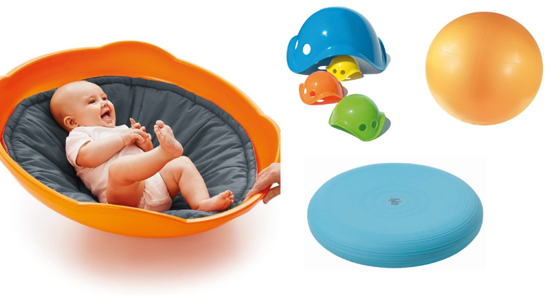 Du matériel pour développer l'équilibre de bébé