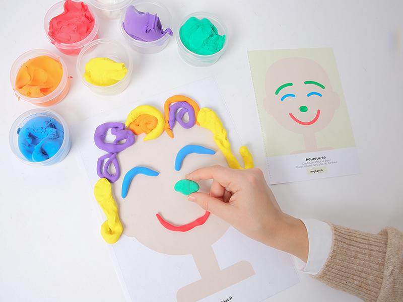Laisser parler sa créativité pour représenter une émotion