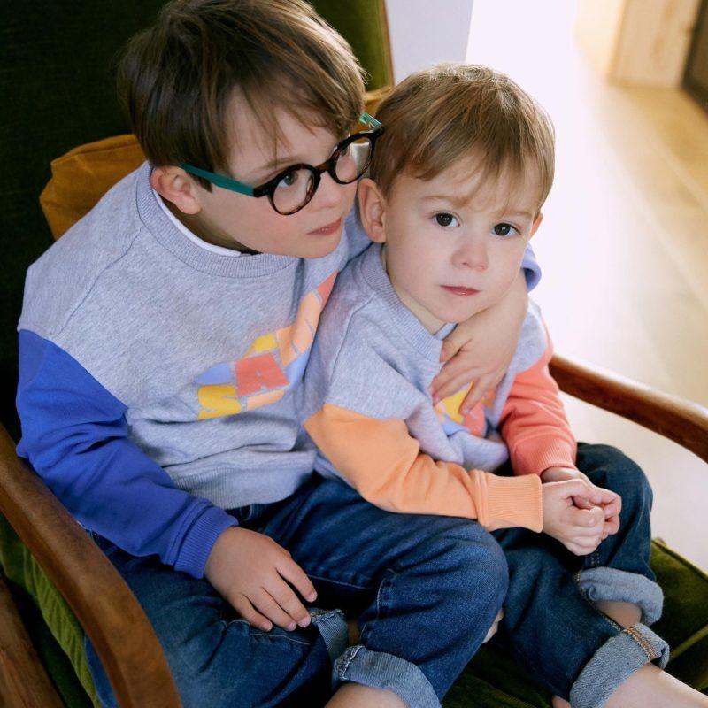 Marcel, porteur de trisomie 21 et son petit frère