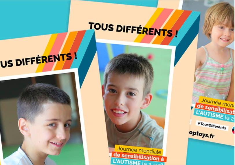 Affiche campagne autisme