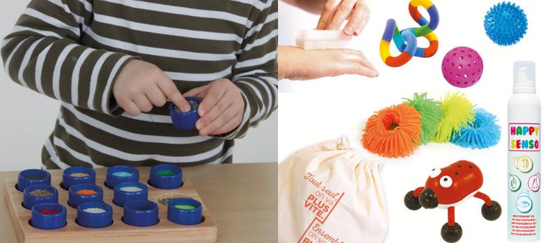 Le loto tactile et le kit sensoriel tactile pour l'apprentissage de l'écriture