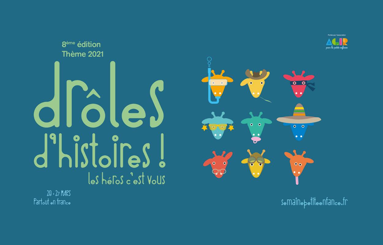 Semaine nationale petite enfance : drôle d'histoires !
