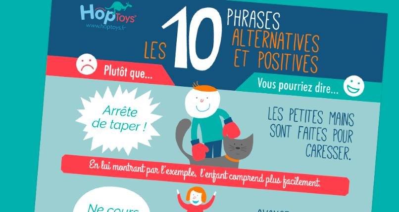 10 phrases alternatives et positives