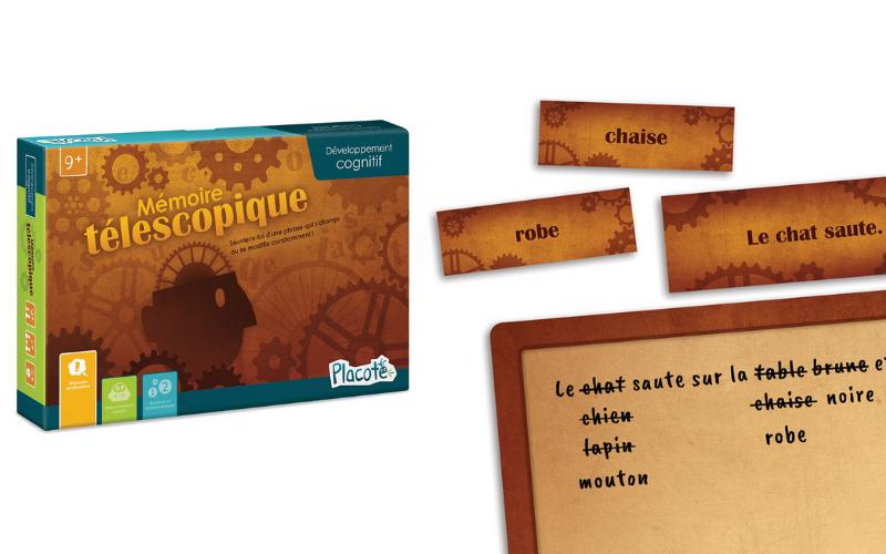 Un jeu pour le développement cognitif