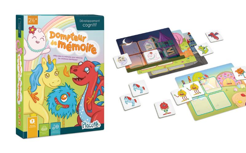 Un jeu pour travailler la mémoire