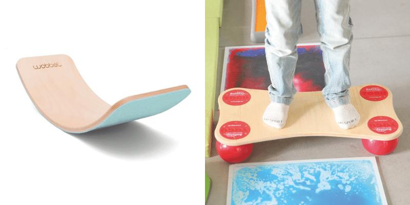 Wobbel et planche équilibre