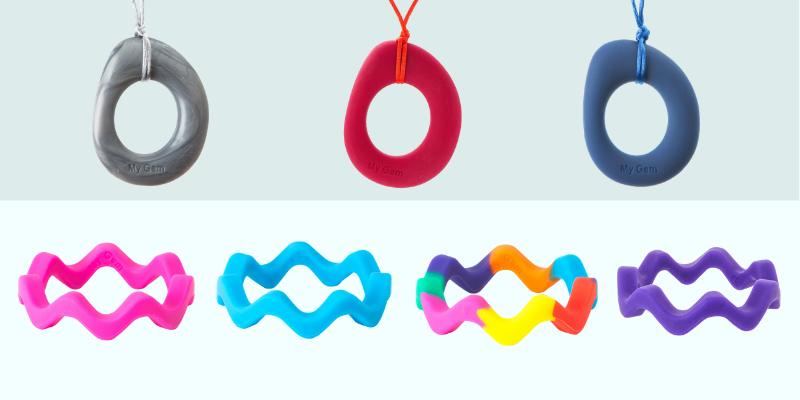 collier éternité et bracelet vague