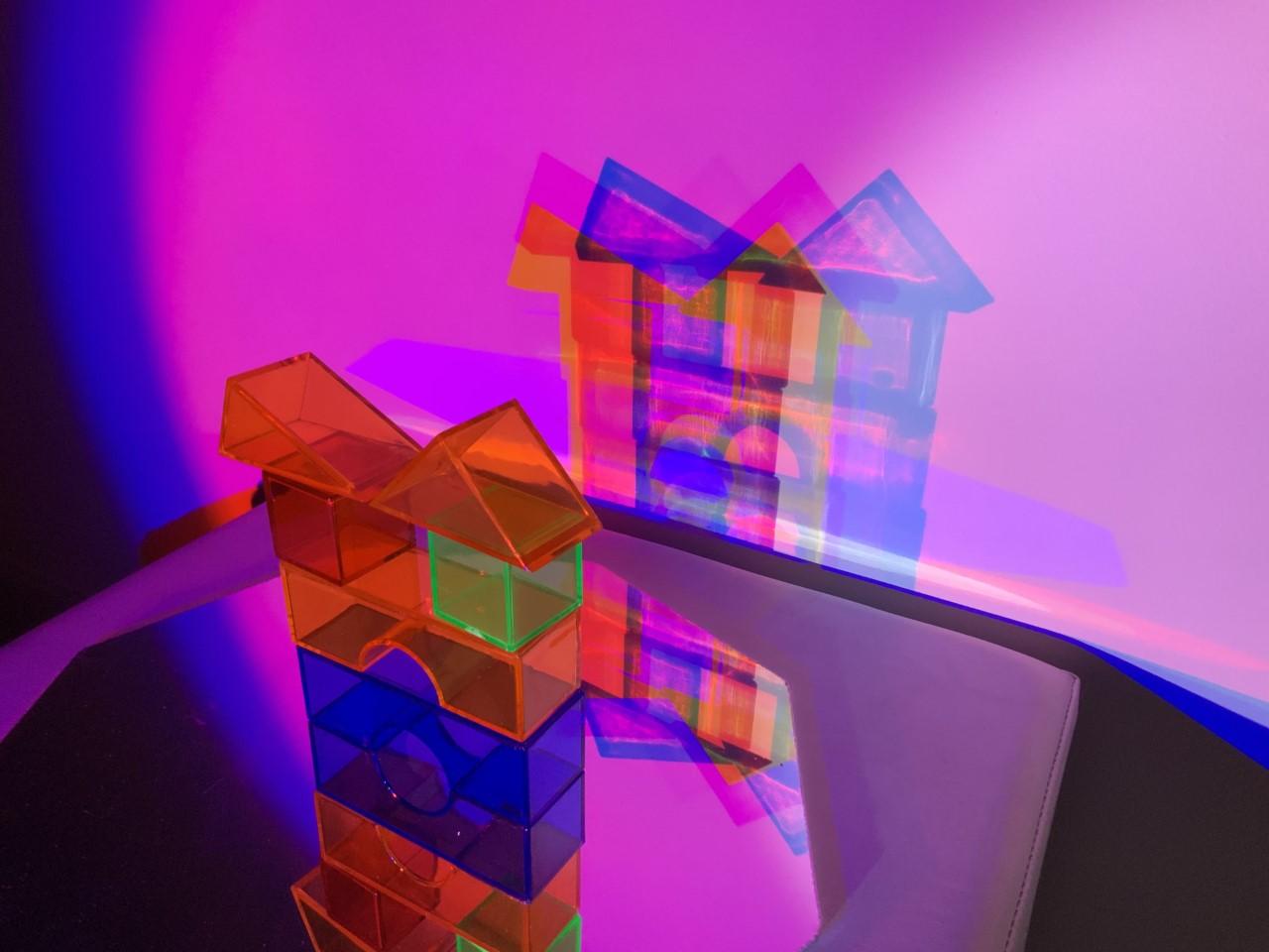 Reggio : activités couleurs et ombres