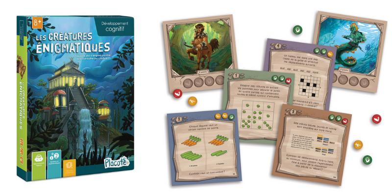 Des jeux pour apprendre les mathématiques : Créatures Enigmatiques