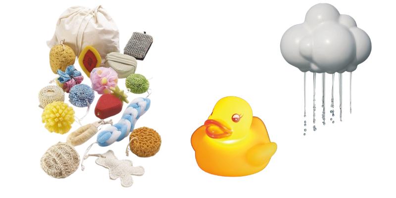 Activités sensorielles : le bain