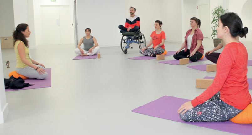 discapacida y yoga