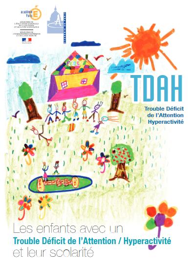 Document de l'hopital Robert Debré Les enfants TDAH et leur scolarité