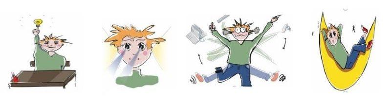 pictogrammes et TDAH