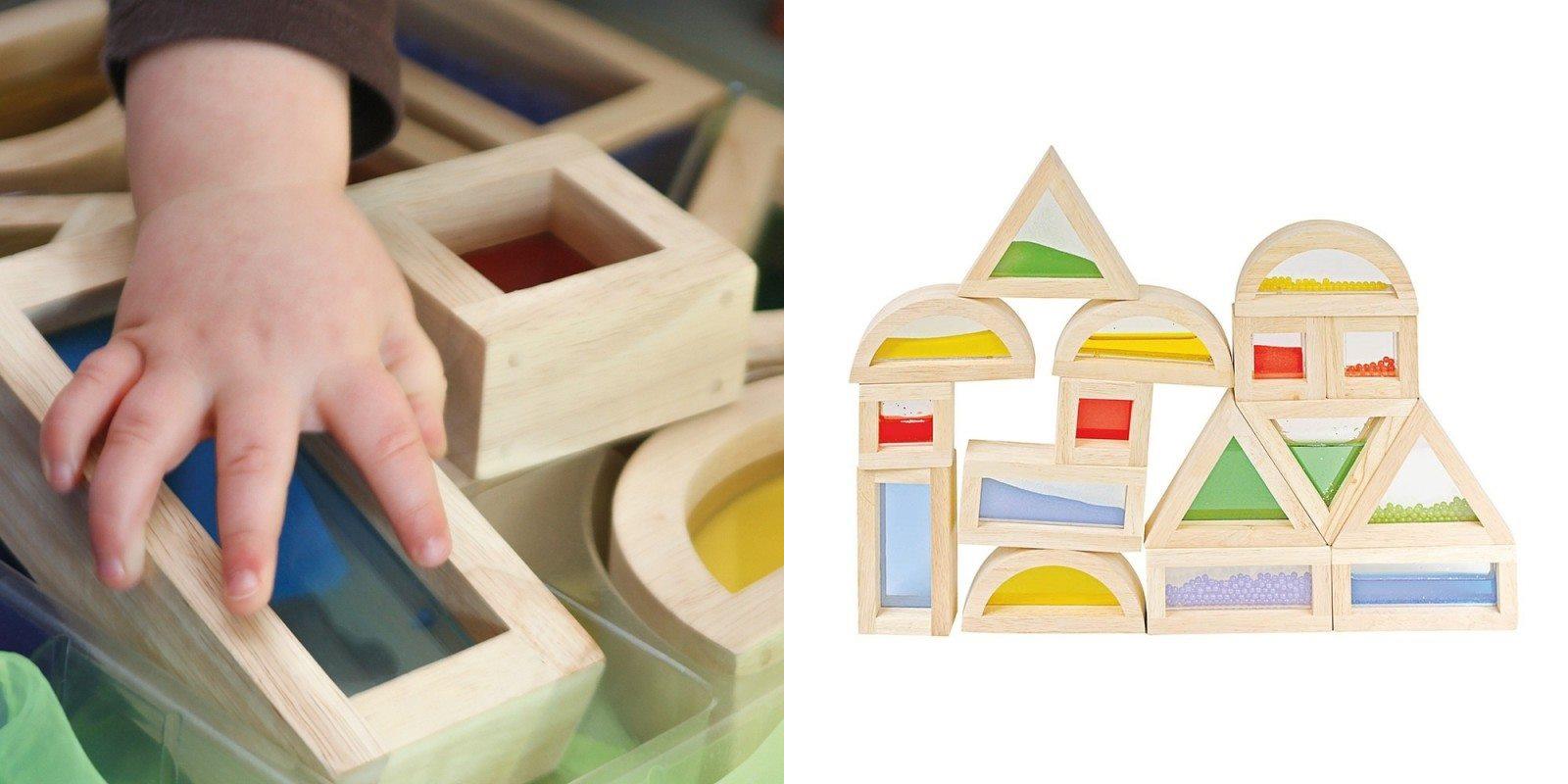 Activités sensorielles : jeux de construction