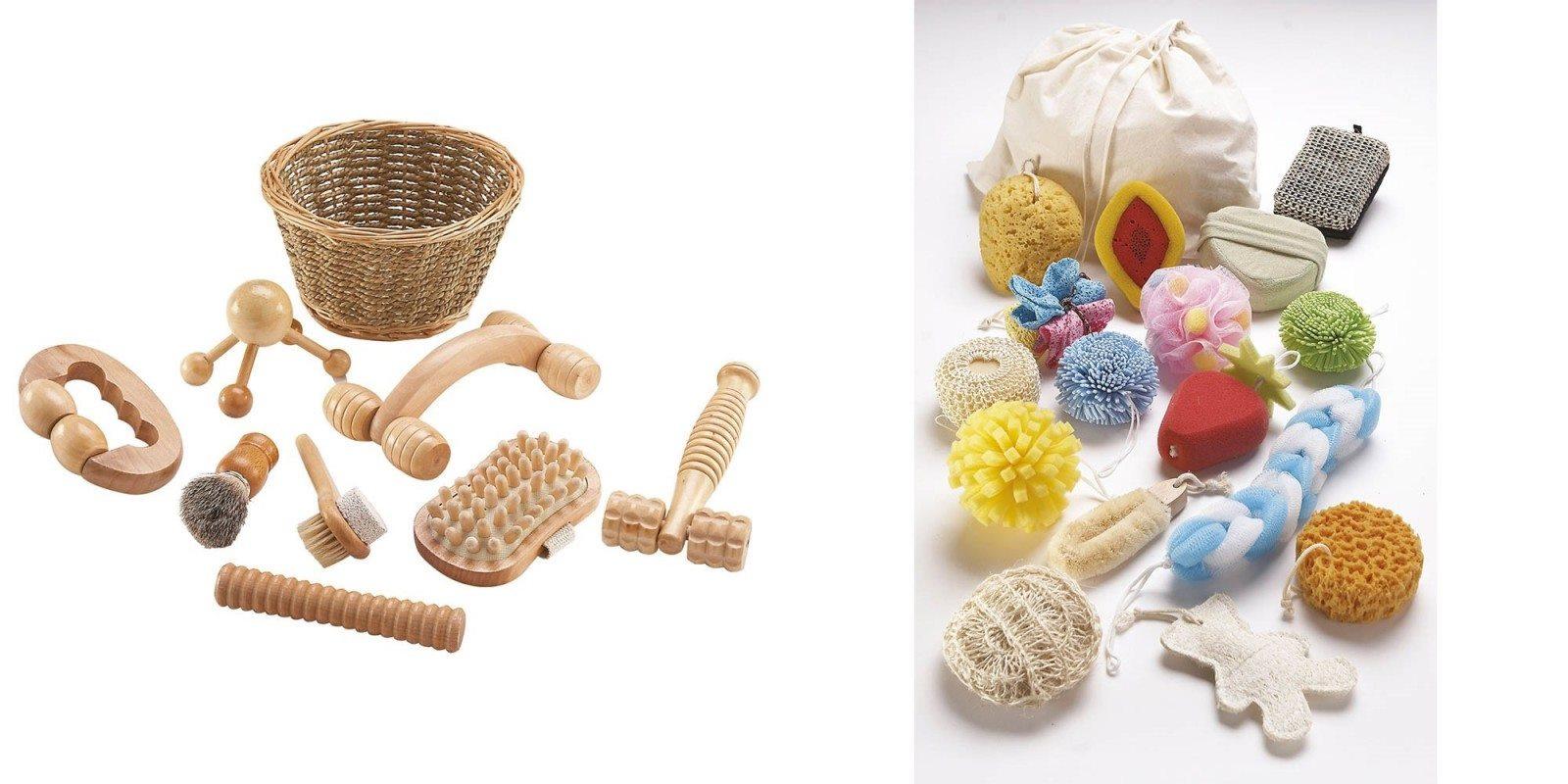 Des outils pour masser les pieds nus de bébé