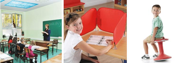 Des solutions pour la salle de classe