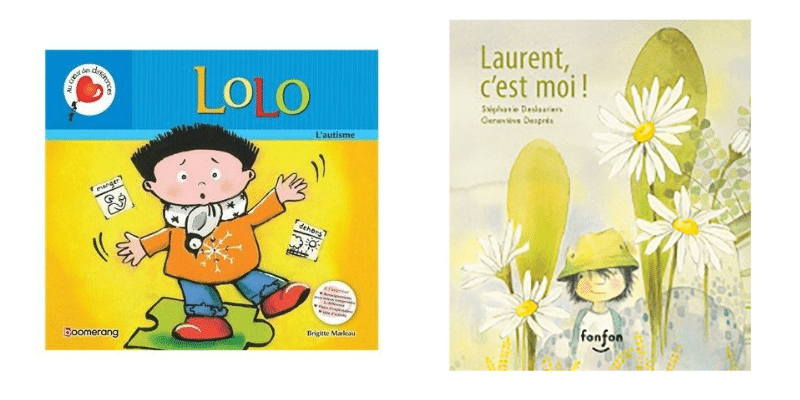 Des petits livres sur l'autisme