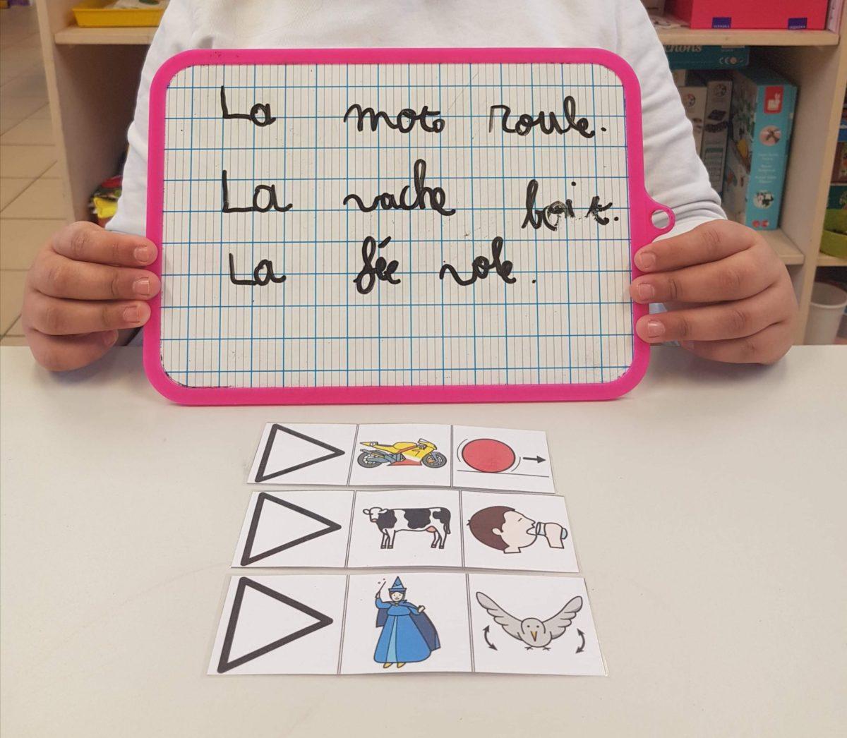 Des pictogrammes pour améliorer la grammaire et l'orthographie