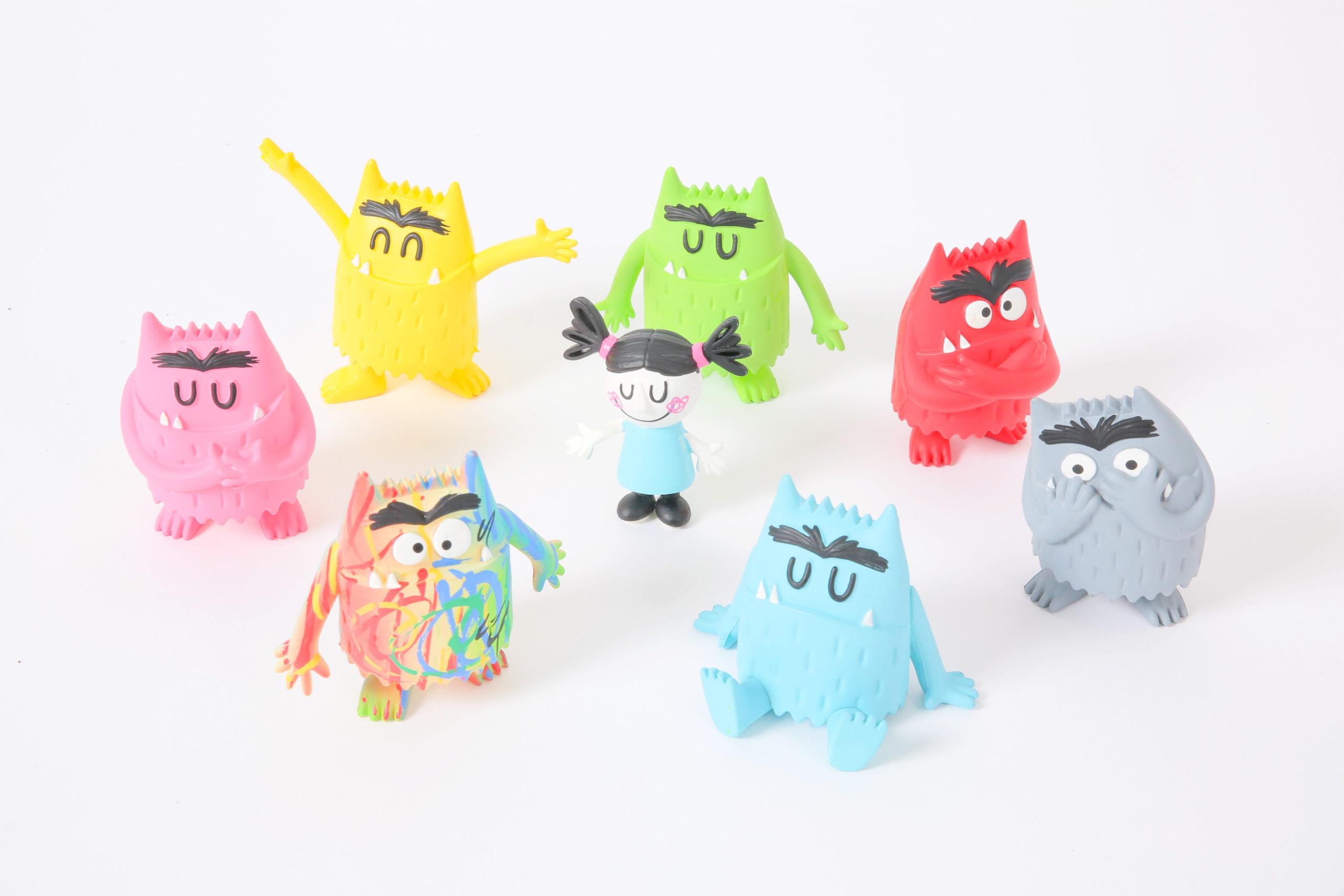 Lot figurines monstre des émotions