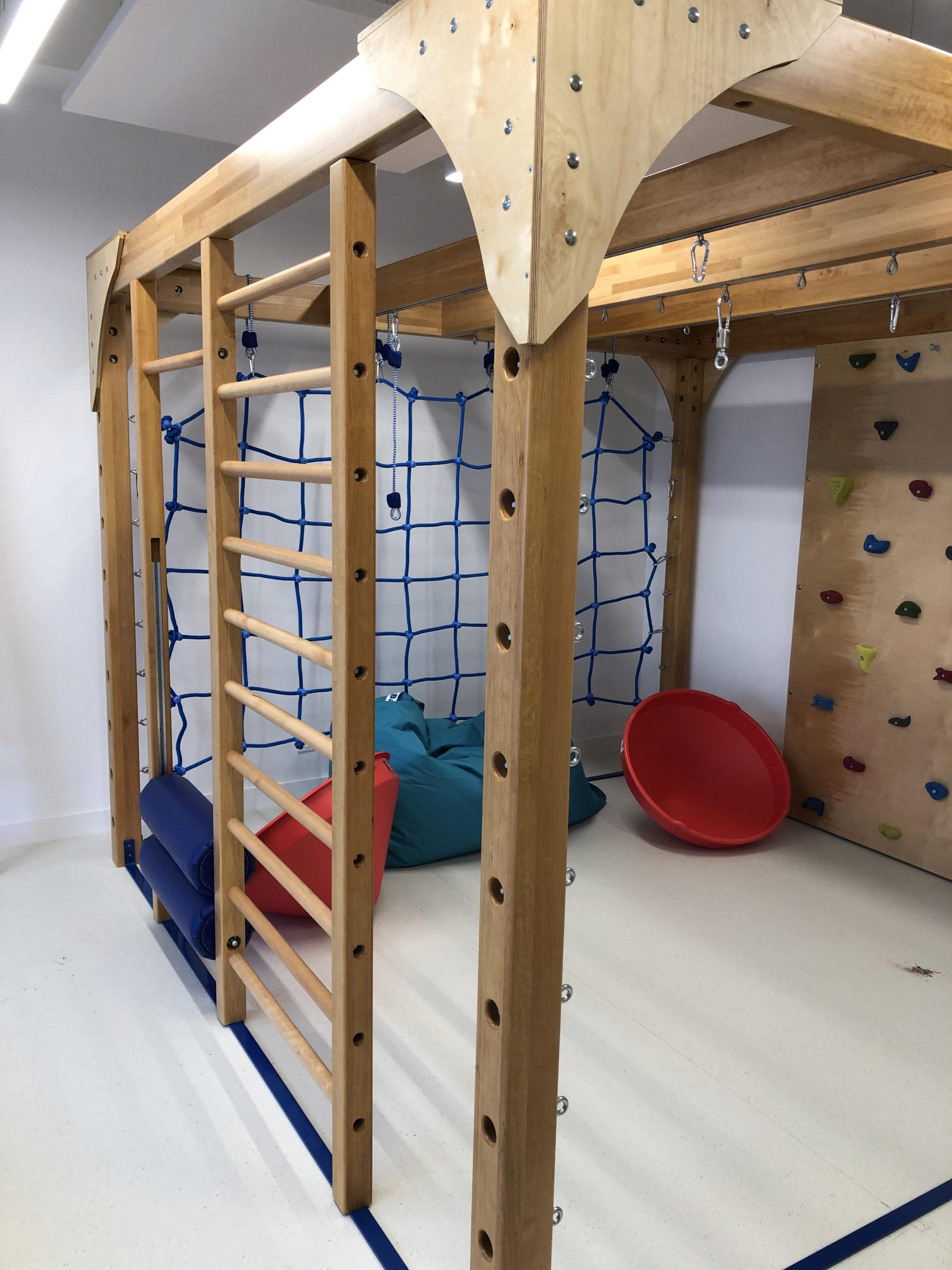 La salle d'intégration sensorielle